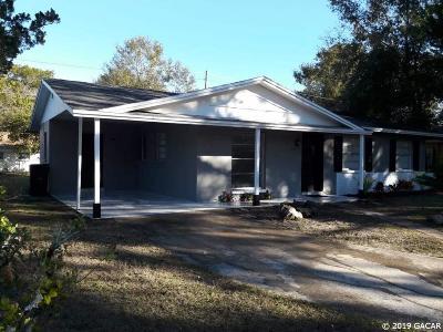 Gainesville Single Family Home For Sale: 1117 NE 24 Street