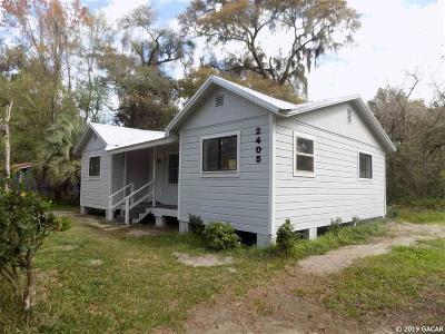 Gainesville Single Family Home For Sale: 2405 NE 70 Terrace