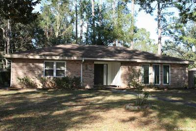 Gainesville Single Family Home For Sale: 2718 NW 32nd Place