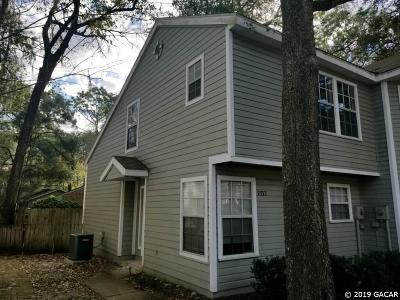 Gainesville Condo/Townhouse Pending: 2333 SW 73rd Terrace