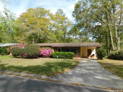 Gainesville Single Family Home Pending: 4145 NW 31 Terrace