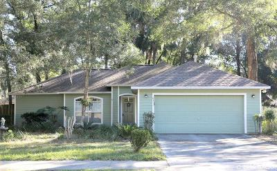Gainesville Single Family Home Pending: 6311 SW 84TH Terrace