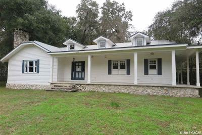Gainesville Single Family Home Pending: 10404 SW 24TH Avenue