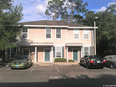 Gainesville Condo/Townhouse For Sale: 867 NW 21 Avenue