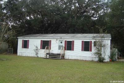Williston FL Single Family Home For Sale: $49,000