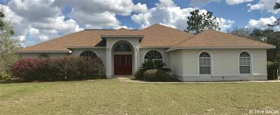 Williston FL Single Family Home For Sale: $224,900