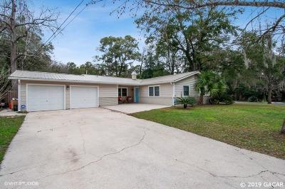 Gainesville Single Family Home Pending: 3864 NW 38th Place