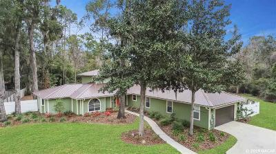 Gainesville Single Family Home For Sale: 3728 NW 33RD Terrace