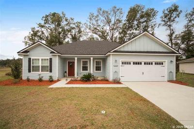 Newberry Single Family Home For Sale: 870 NW 256th Way