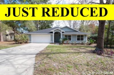 Gainesville Single Family Home For Sale: 4517 NW 20TH Drive