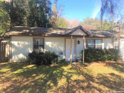 Gainesville Single Family Home For Sale: 4916 SW 57th Drive