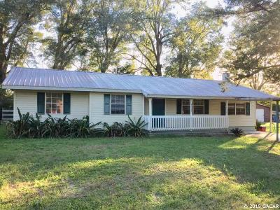 High Springs Single Family Home For Sale: 25123 NW 178 Lane