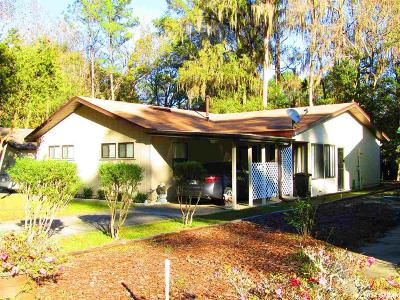 Gainesville Single Family Home For Sale: 8373 NW 39TH Circle