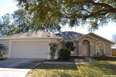 Gainesville Single Family Home For Sale: 3421 NW 62nd Place