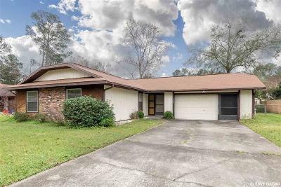 Gainesville Single Family Home For Sale: 4529 NW 44TH Place