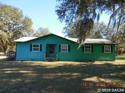 Gainesville Single Family Home For Sale: 16409 N County Road 225