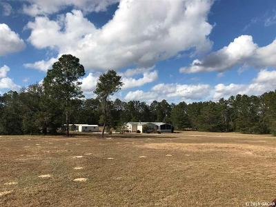 Williston FL Single Family Home For Sale: $185,000
