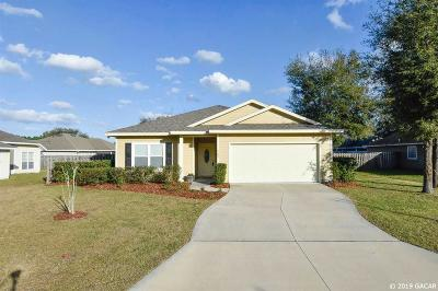 Newberry Single Family Home For Sale: 965 NW 256 Terrace