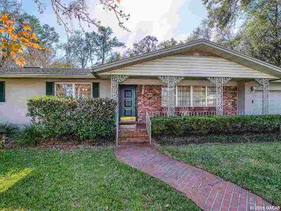 Gainesville Single Family Home For Sale: 4401 NW 16th Place