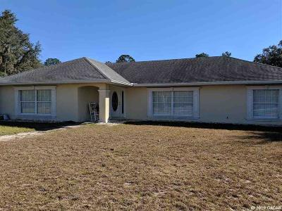 Gainesville Single Family Home For Sale: 20805 NE 6TH Street