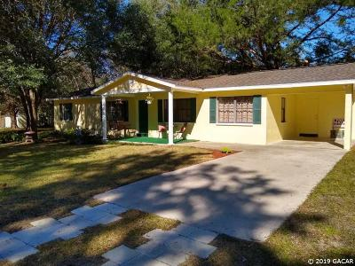 Newberry Single Family Home For Sale: 24708 SW 1ST