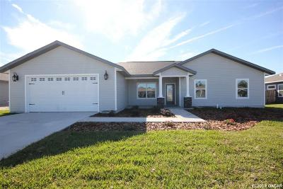 Newberry Single Family Home For Sale: 23157 NW 5th Place