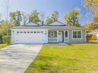 Alachua Single Family Home For Sale: 11932 NW 74 Terrace