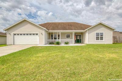Newberry Single Family Home For Sale: 1034 NW 231st Way