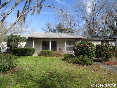 Gainesville Single Family Home For Sale: 2046 NW 20th Lane