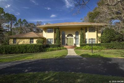 Gainesville Single Family Home For Sale: 2524 NW 24th Terrace