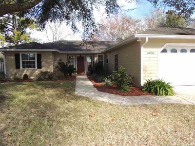 Alachua Single Family Home For Sale: 6034 NW 111th Place