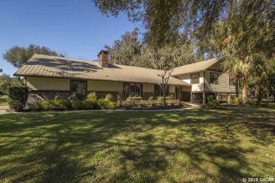 Newberry Single Family Home For Sale: 2604 NW 162nd Street
