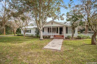Newberry Single Family Home Pending: 295 SW 252nd Street