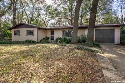Gainesville FL Single Family Home For Sale: $185,000