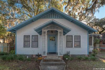 Gainesville Single Family Home For Sale: 119 NW 11th Street