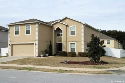 Newberry Single Family Home For Sale: 24270 SW 8th Place