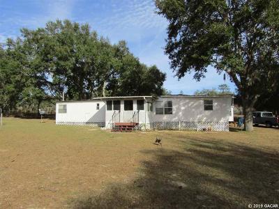 Bronson Single Family Home Pending: 10391 NE 90TH Street