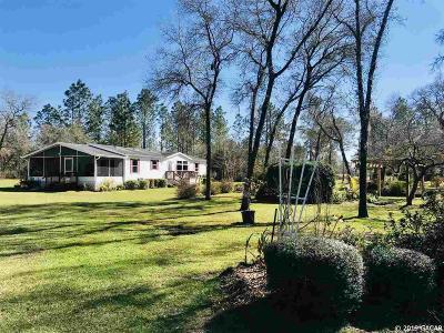 Williston FL Single Family Home For Sale: $145,000