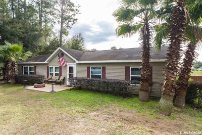 Alachua Single Family Home For Sale: 12911 NW 151st Place