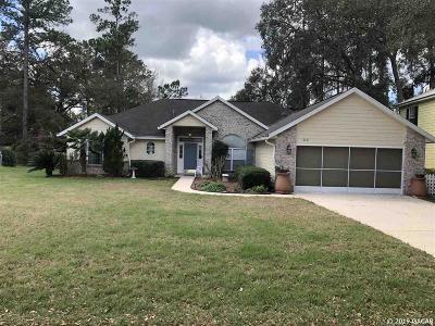Alachua Single Family Home For Sale: 6531 NW 106th Place