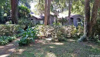 Gainesville Single Family Home For Sale: 2834 NW 58th Boulevard