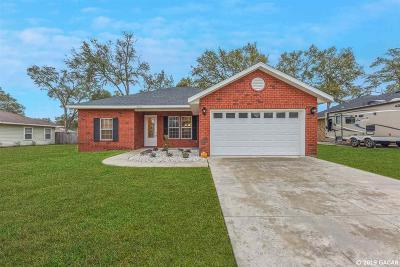 Newberry Single Family Home For Sale: 25126 SW 21ST Place