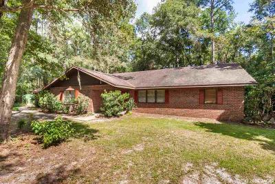Gainesville Single Family Home For Sale: 1423 SW 96TH Street