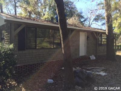 Reddick Single Family Home For Sale: 18467 NW 57th Court