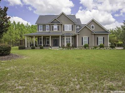 Newberry Single Family Home Pending: 27824 SW 90 Avenue