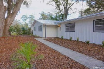Gainesville Single Family Home For Sale: 4711 NW 32nd Place