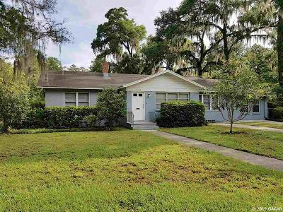 Gainesville Single Family Home For Sale: 1536 NW 7th Avenue