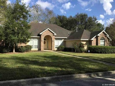 Gainesville Single Family Home For Sale: 1827 NW 113th Drive