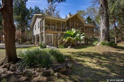 High Springs Single Family Home For Sale: 8640 NE 40TH COURT Road