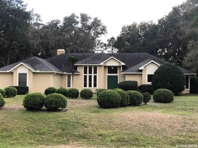 Gainesville Single Family Home For Sale: 7909 SW 43rd Place